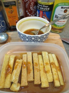 IMG_4715 Golden Tofu in Miso Marinade