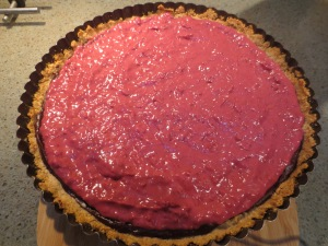 Raspberry Cream middle layer