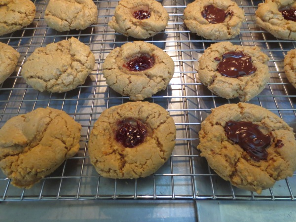 Peanut Butter Cookies and PBJ and PB Chocolate