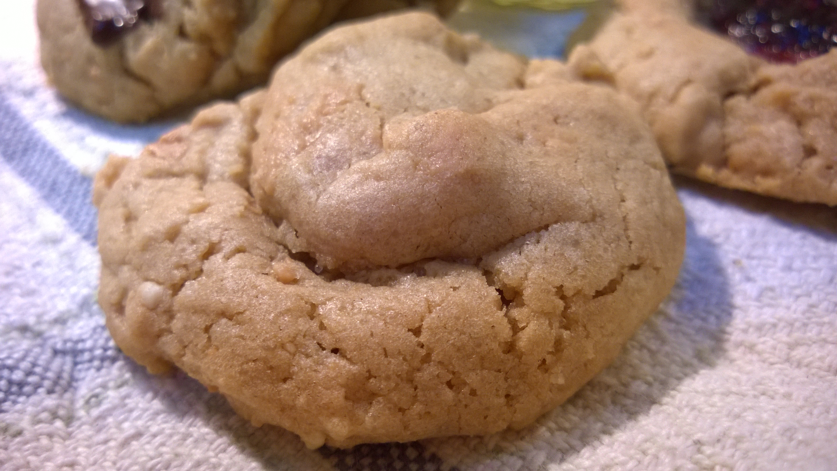 how to make weed penut butter cookies without eggs