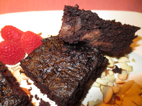 Double Chocolate Flourless SuperFood Brownies