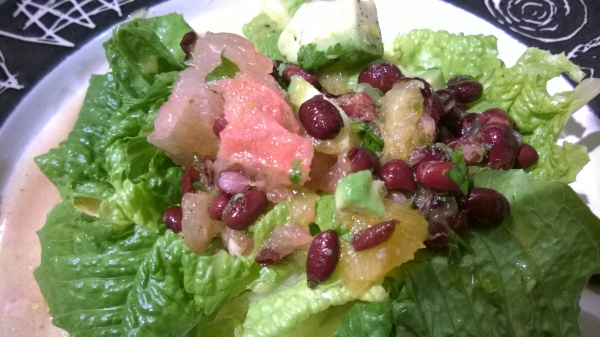 Citrus Black Bean and Avocado Salad