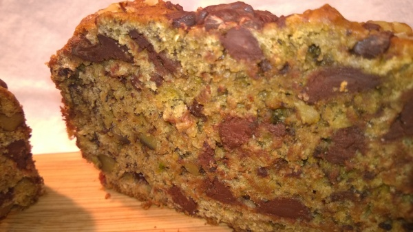 Heart Healthy Chocolate Chunk Banana Bread
