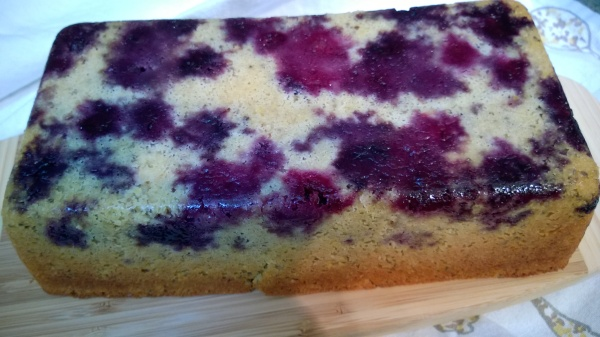 Blueberry Lemon (Tie Dyed) Tea Cake - gluten free