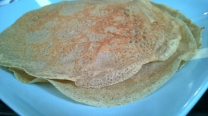 Buckwheat and millet crepes